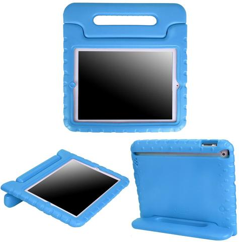 Portable Shockproof Handle Stand Holder Case for Ipad 234 red 1 item