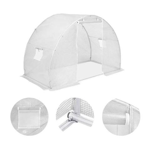 Greenhouse With Steel Foundation 300x150x200 Cm 1 item