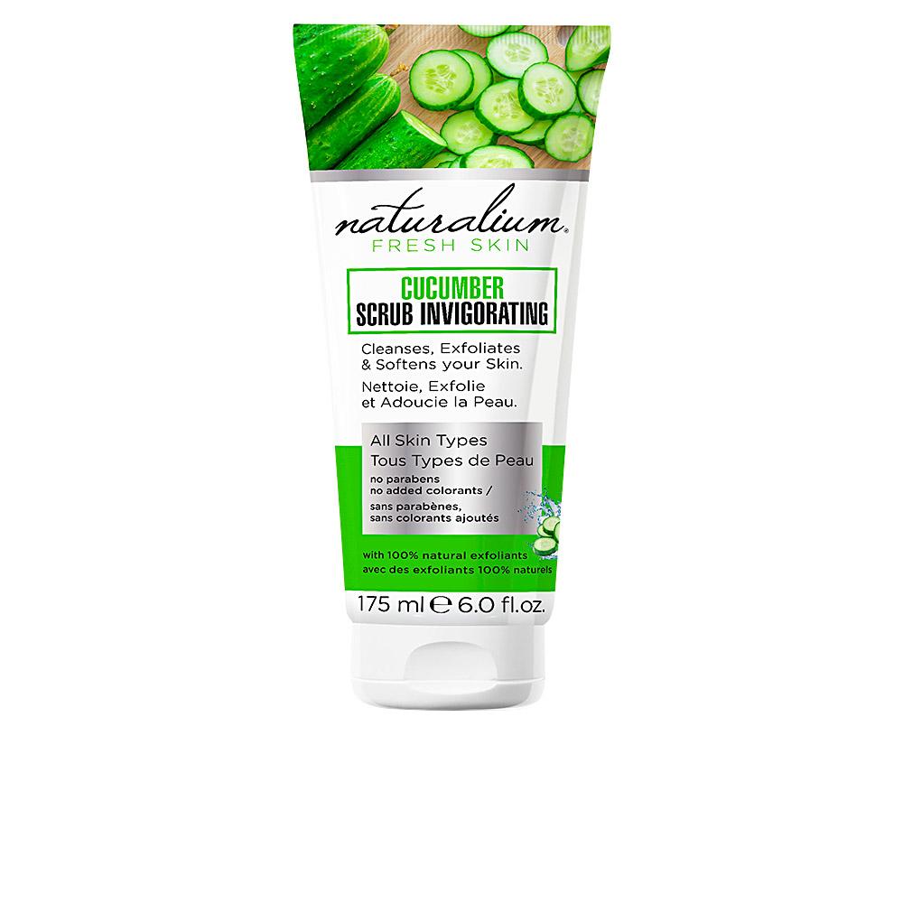 Naturalium Cucumber Scrub Invigorating 175 Ml