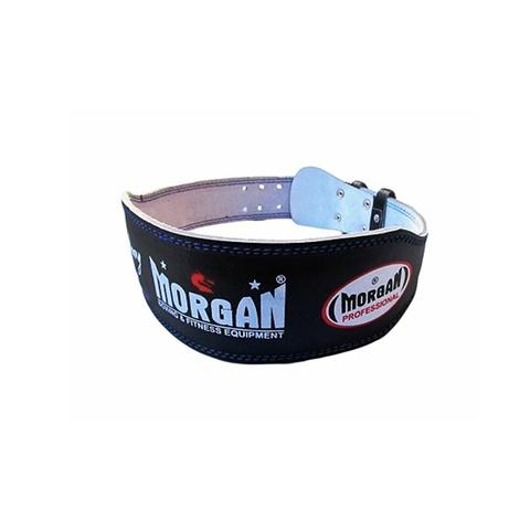 Morgan Professional Wide Leather Weight Lifting Belt 10cm Large