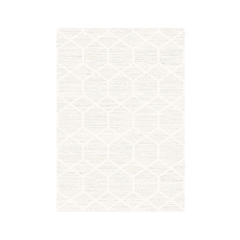Cream Beige Harper Contemporary Rug 200 x 290 cm