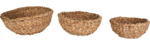 Seagrass Round Mini Bowl Small (set Of 3) 1 item