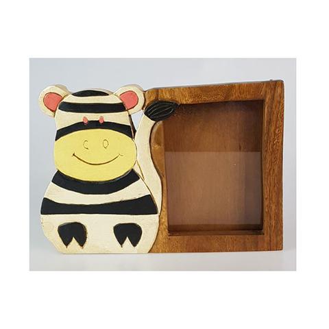 Wooden Photo Frame Zebra 1 item