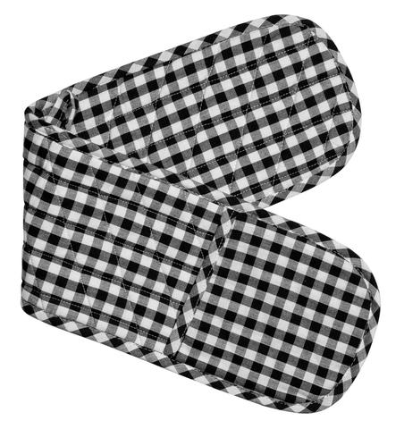 Gingham Double Mitts - Set of 4 1 item