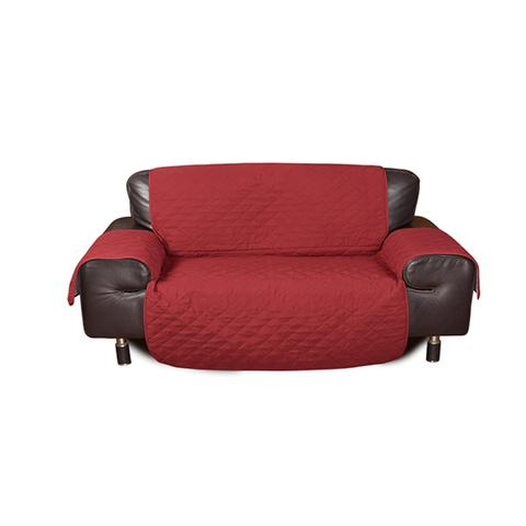 3 Seater Quilted Sofa Protector Throw Furniture Protector Cover 1 item