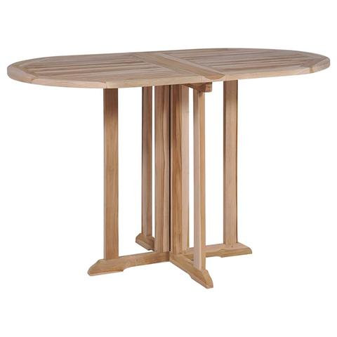 Folding Butterfly Dining Table Solid Teak 120x70x75 Cm 1 item
