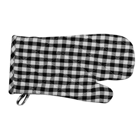 Gingham Oven Gloves - Set of 4 50 cm x 70 cm