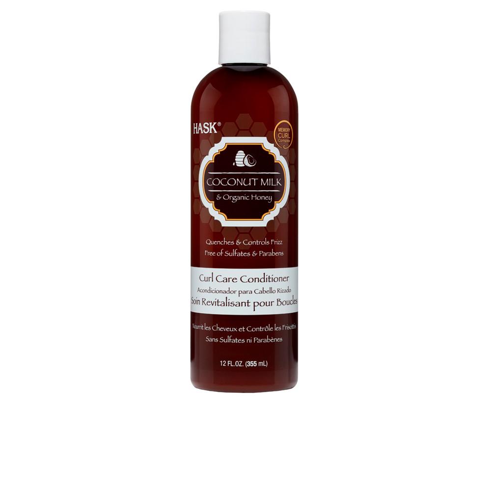 Hask Coconut Milk & Honey Curl Care Conditioner 355 Ml