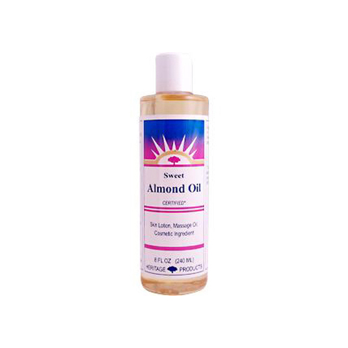 Heritage Products Sweet Almond Oil (8 Fl Oz)