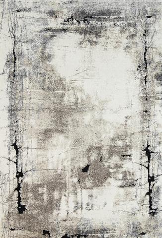 Vision Abstract Beige Grey Rug 160x230 cm