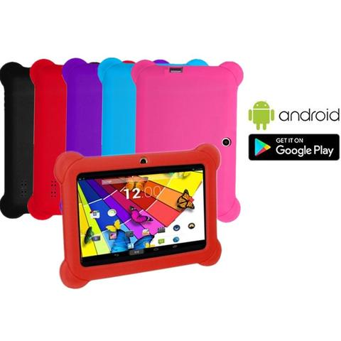 8gb 7 Touch Screen Android 4.4 Os Kid's Tablet With Case red 1 item