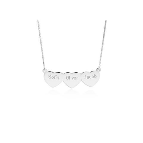 Multi Heart Necklace 1 item