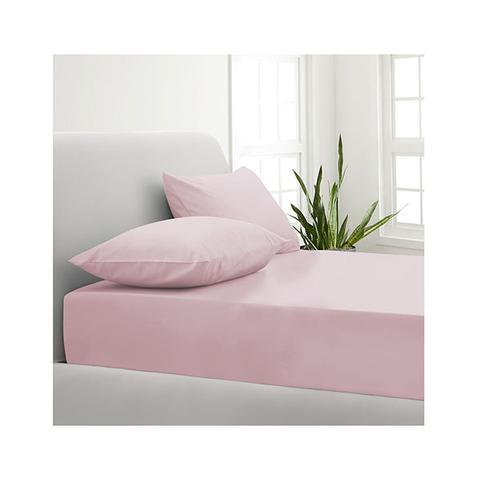 Park Avenue 1000tc Cotton Blend Sheet Set Hotel Quality Blush Double