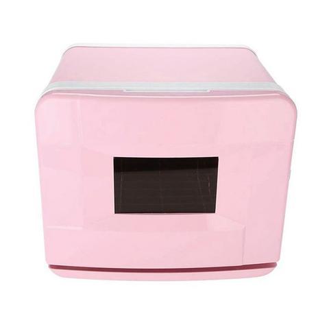 8l Pink Electric Towel Warmer Uv Steriliser Cabinet Small Hot Heater 1 item