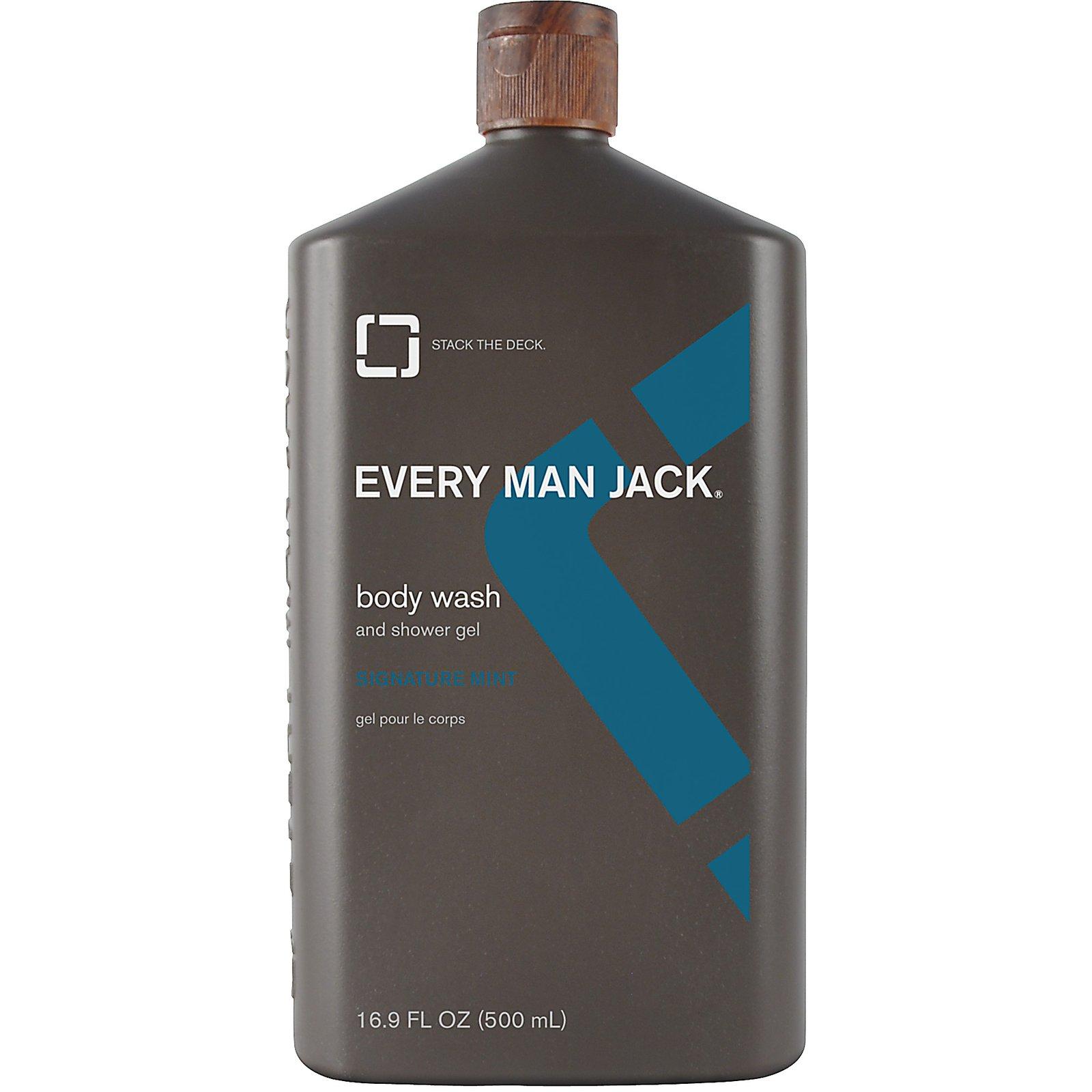 Every Man Jack Wash Signature Mint (1x16.9 Oz)
