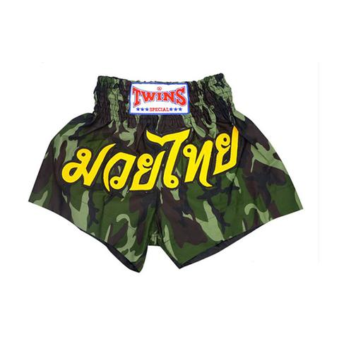 Twins Boxing Shorts Army Green L