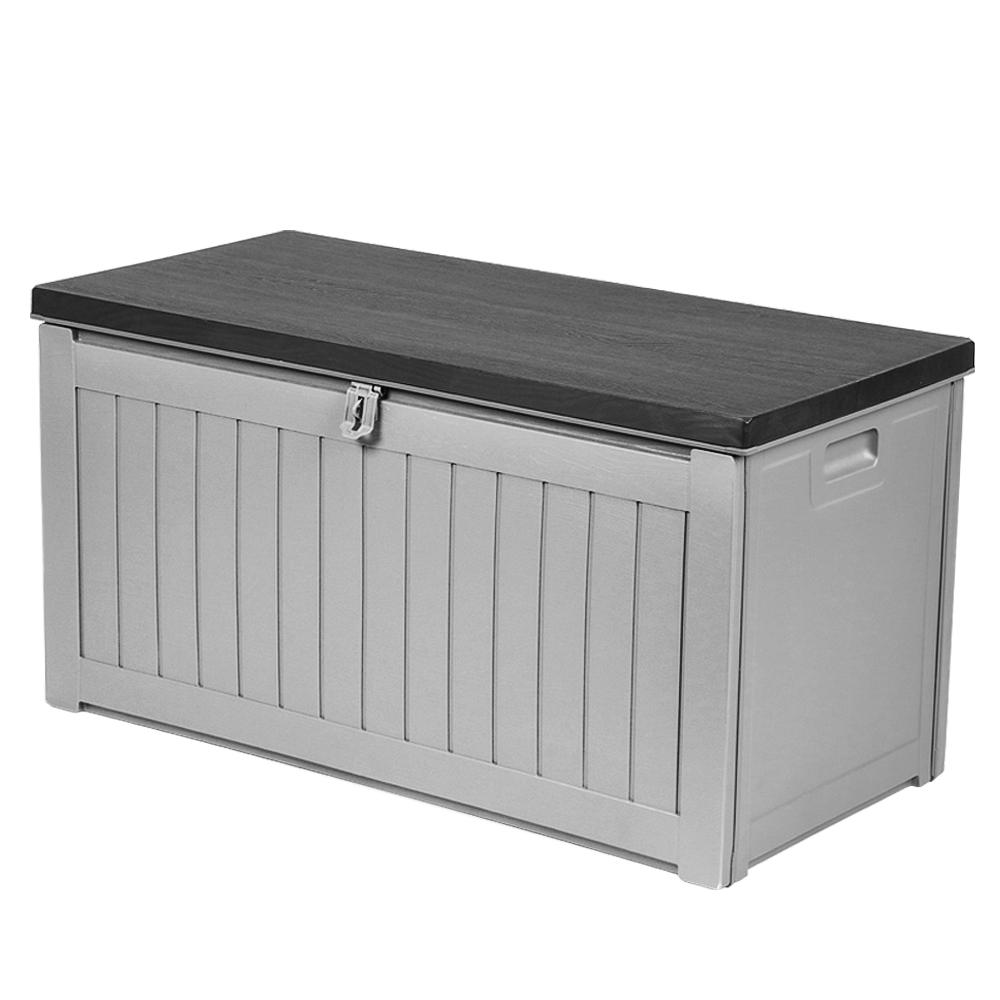 Gardeon Outdoor Storage Box Bench Seat 190l