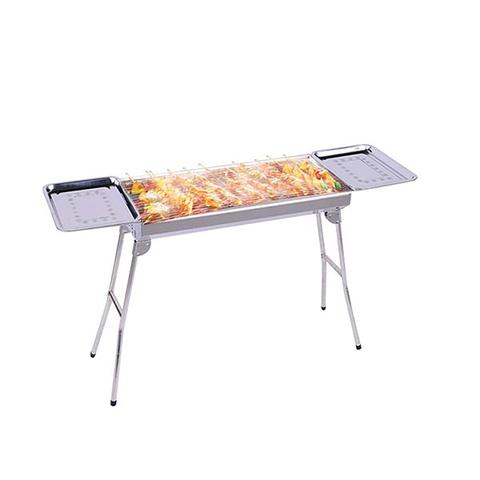 Soga Skewers Grill W Sidetray Stainlessteel Charcoal Outdoor 6 To 8pax 1 item