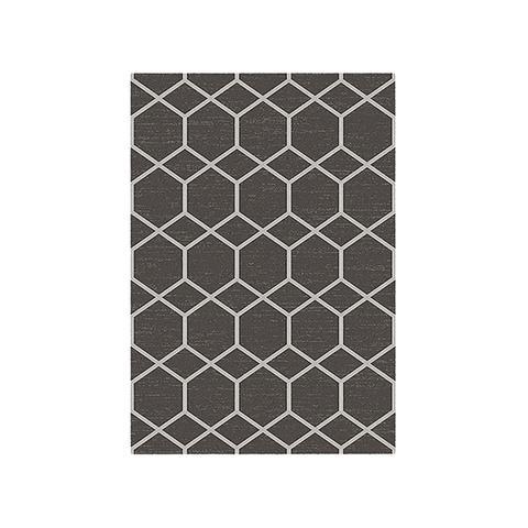 Contemporary Harper Charcoal Rug 200 x 290 cm