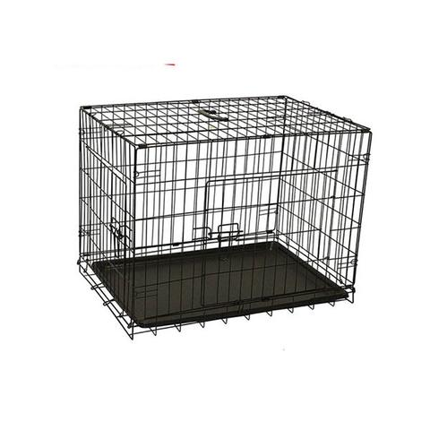 Pet Dog Cage Crate Kennel Portable Collapsible Puppy Metal Playpen 1 item