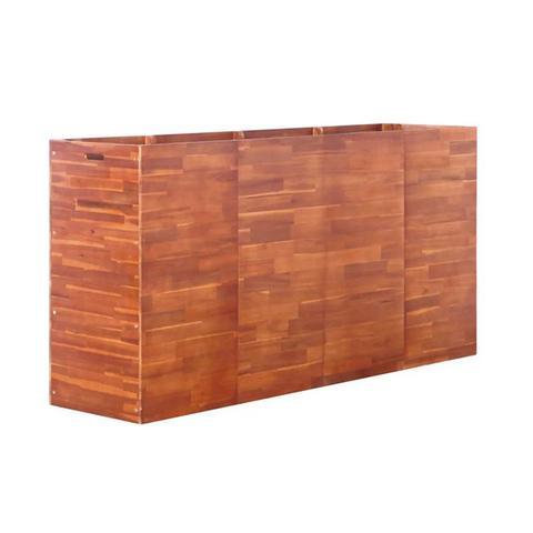 Garden Planter Acacia Wood 50 Cm 50 x 50 cm