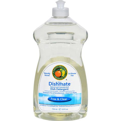 Biokleen Dish Liquid  Natural  Free and Clear  25 Oz  Case of 6