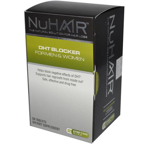 Nuhair Dht Blocker for Men and Women 60 Tablets