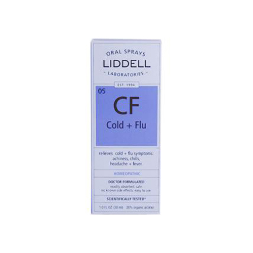 Liddell Homeopathic Cold and Flu Spray (1x1 Fl Oz)