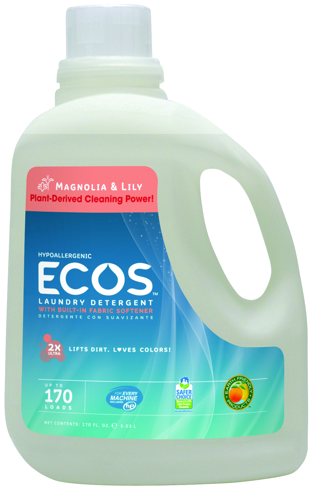 Earth Friendly Products Ultra Magnolia & Lilly (2x170 Oz)