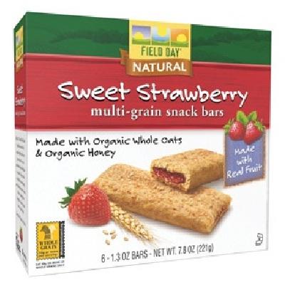 Field Day Snk Bar Sweet Straw (6x7.8oz )