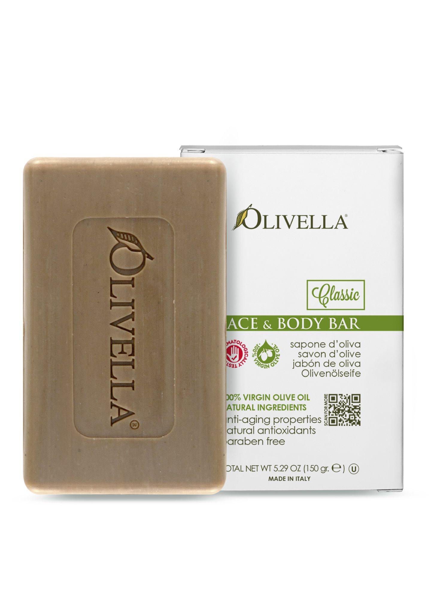 Olivella Face & Body Bar Soap - Classic Original