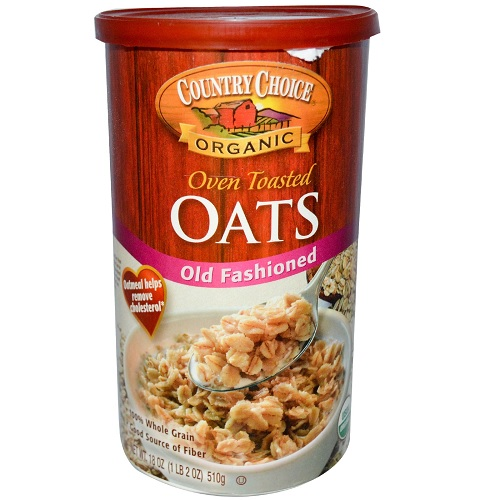 Country Choice Organic Oven Toasted Old Fashioned Oats (6x18 Oz)
