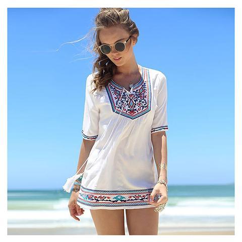Beach Dress Chiffon Lace 1 item