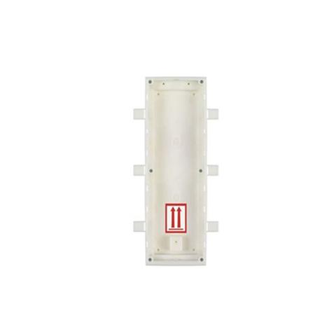 2n Flush Mount Installation Box For 3 Modules 1 item