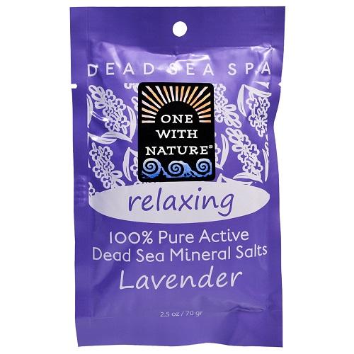 One With Nature O.w.n. Lavender Bathsalts (6x2.5 Oz)