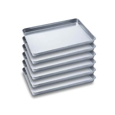 Soga 6x Aluminium Oven Baking Pan Tray For Bakers Gastronorm 60x40x5cm 1 item