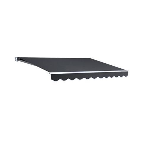 Folding Arm Awning Grey 3x2.5m 1 item