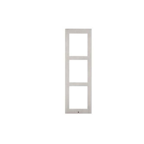 2n Ip Verso Surface Installation Frame For 3 Module Nickel 1 item