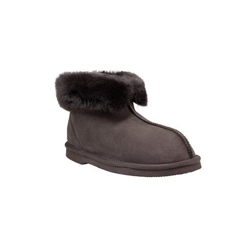 Comfort Me Chocolate Classic Sheepskin Slippers 13m/14w