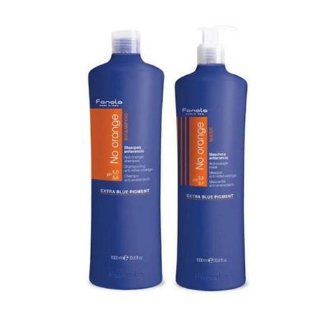 1000ml Twin Pack Fanola No Orange Coloured Hair Pre Toner 1 item
