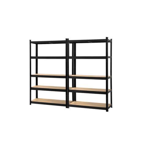 2 Pcs Warehouse Garage Storage Racking Steel Metal Shelves 1 item