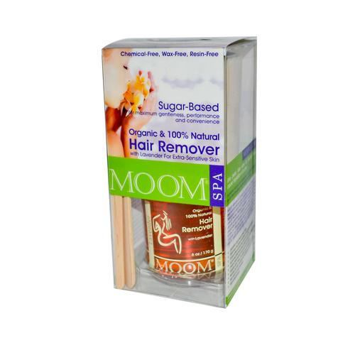 Moom Organic Hair Removal Kit With Lavender Spa Formula (1 Kit)
