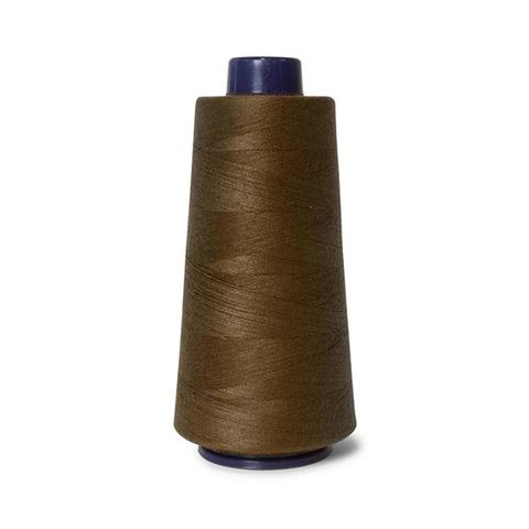 2000m Hemline Polyester Brown Sewing Overlocker Thread Pack 1 item