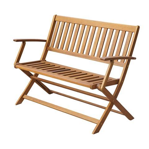 Garden Bench 120 Cm Solid Acacia Wood 1 item