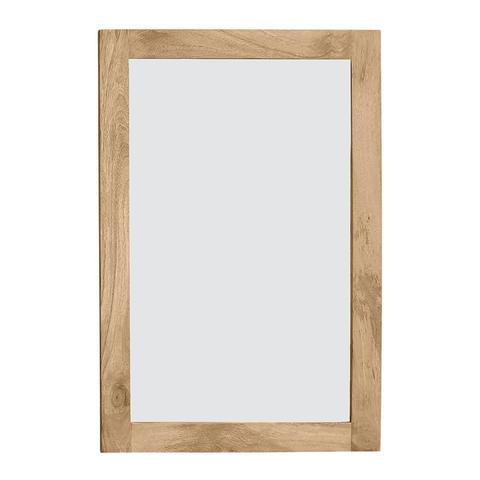 Newhalen Wooden Frame Mirror 90x2.5x60cm Natural 1 item