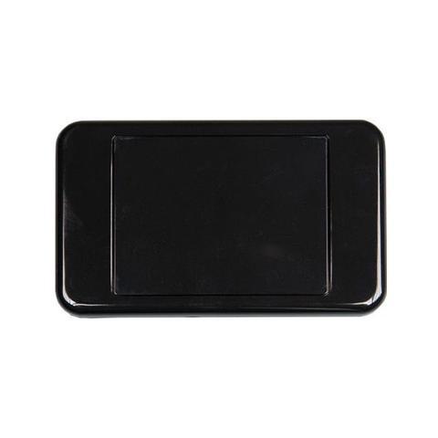 Blank Australian Style Wall Plate Black 1 item