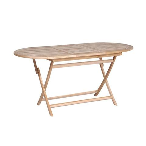 Folding Garden Table 160 X80 X 75 Cm Solid Teak Wood 1 item