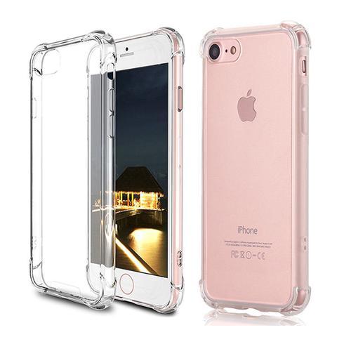 Iphone 7 Or 7plus Shockproof Slim Soft Bumper Hard Back Case Cover 7
