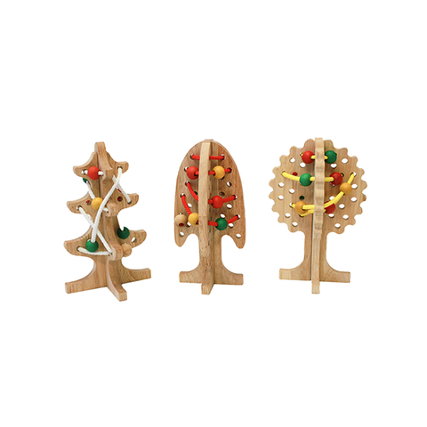 Solid Lacing Trees Set Of 3 1 item
