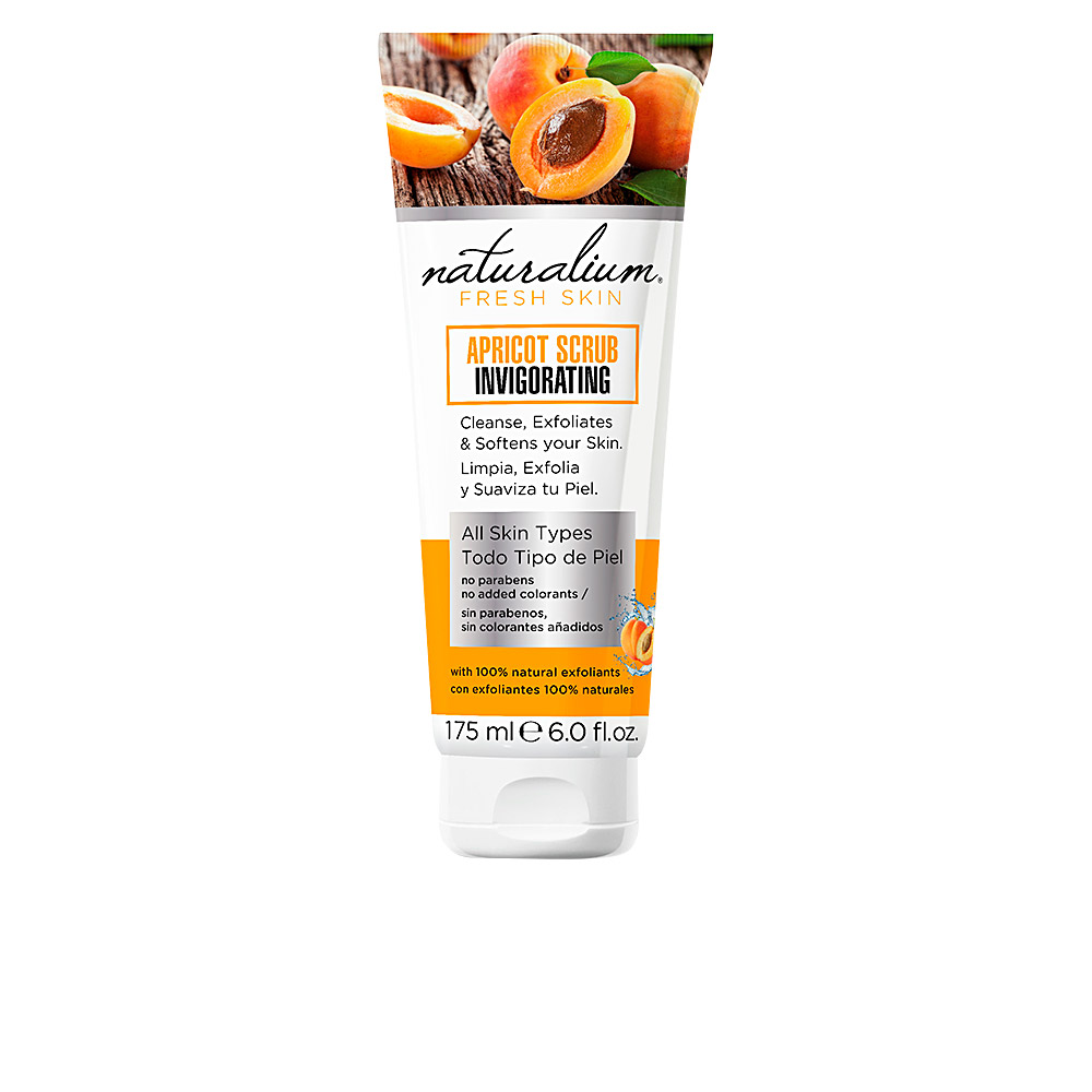 Naturalium Apricot Scrub Invigorating 175 Ml